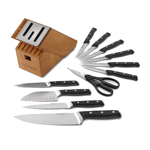Calphalon Self Sharpening Classic Cutlery Knife Block Set