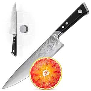 Japanese Damascus Steel Chef Knife