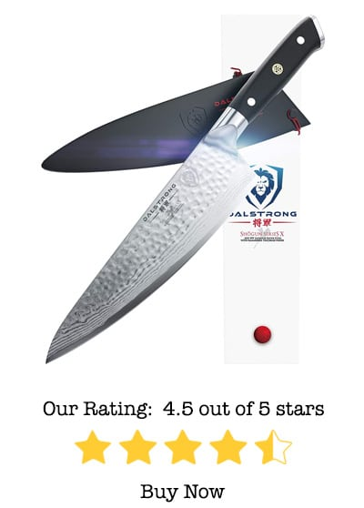 dalstrong chef's knife shogun series x gyuto review