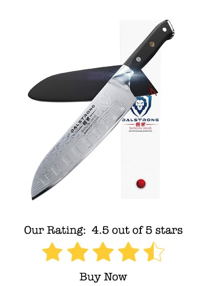 dalstrong santoku knife review