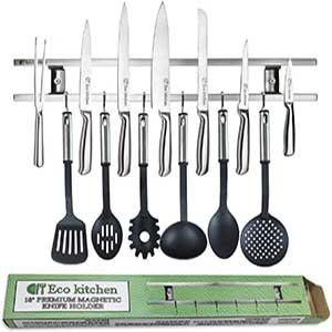 magnetic knife strip 18 inch knife holder