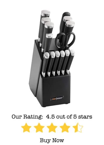 samurai kitchen knife set review