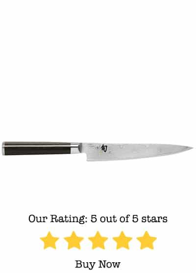 shun dm0701 classic 6 inch utility knife review