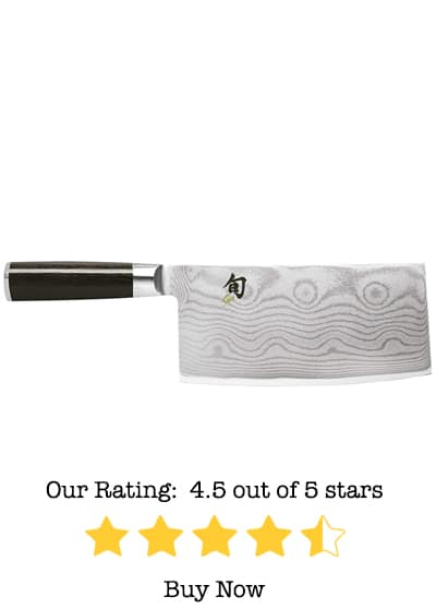 shun dm0712 classic 7-inch chinese vegetable cleaver review