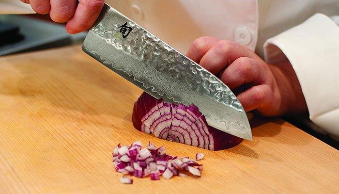 shun premier santoku knife steel Strength