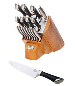 Chicago Cutlery Fusion Knife Block Set